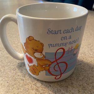 Vintage 80's Care Bears Coffee Mug